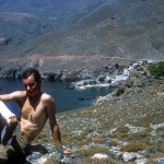 1968 -  first step in Sfakia, all August 1968